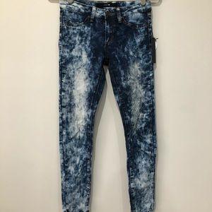 Joe's acid wash skinny jeans juniors